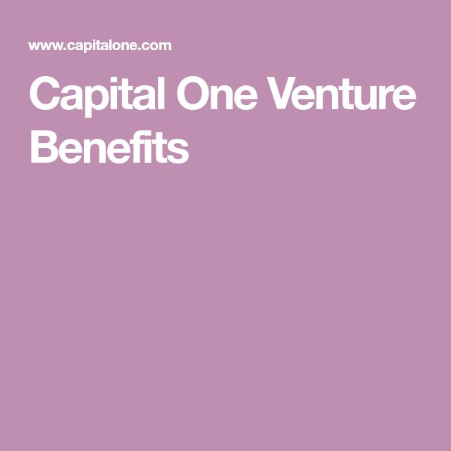 Capital One Venture Benefits
