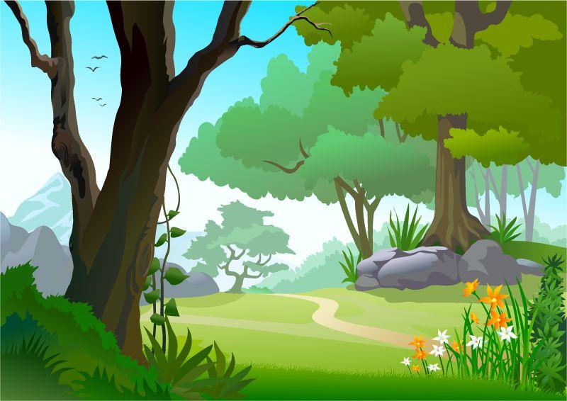 Image result for forest clip art