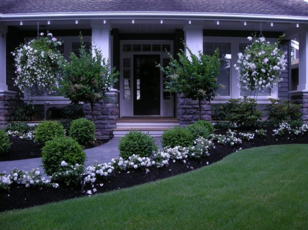 40 front yard landscaping ideas for a good impression for Good landscaping