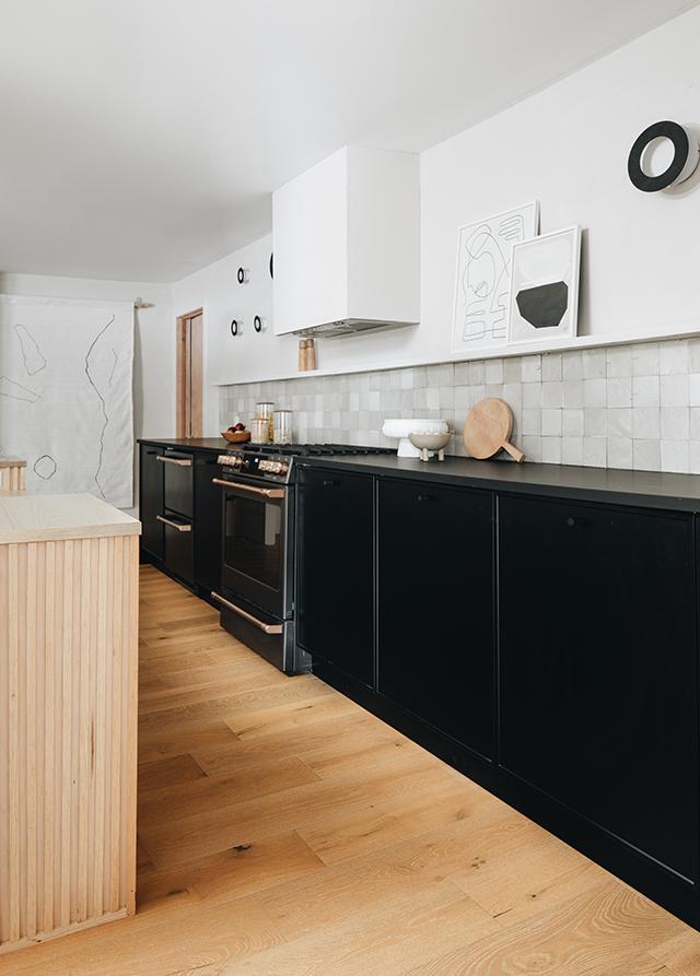 Sarah Sherman Samuel Kitchen Renovation Dark Kitchen Dark Kitchen Cabinets