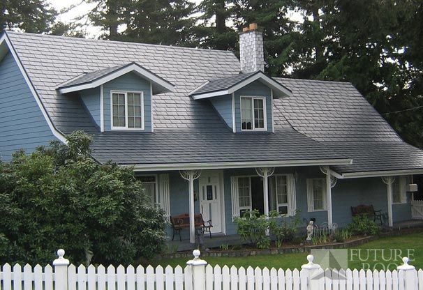 Steel Slate Roof Slate Roof Steel Roofing Slate Roof House