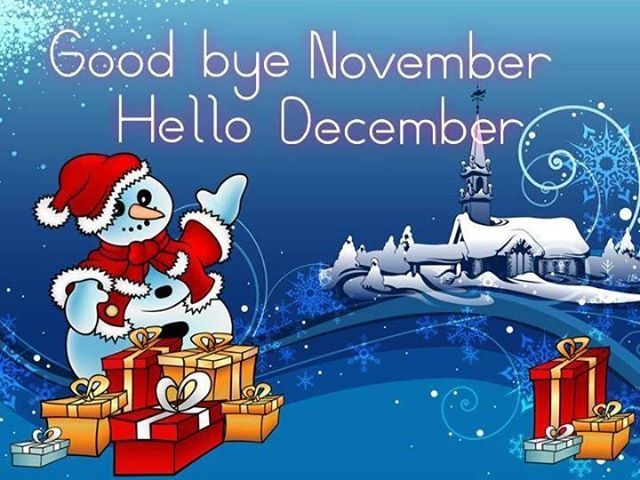 Great Goodbye November Quotes Quote Months December November