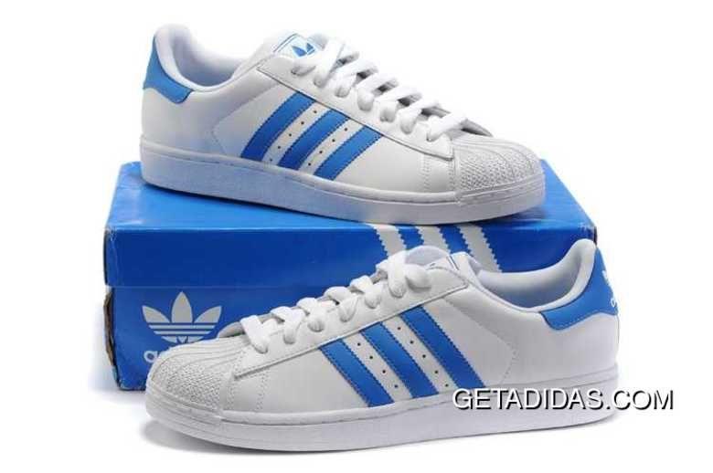 Http: / / / Adidas Superstar II en la tienda azul blanco