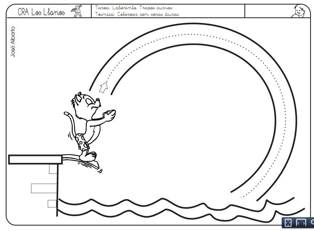 duiken maar! | graphisme | Pinterest | Schwungübungen, Feinmotorik ...