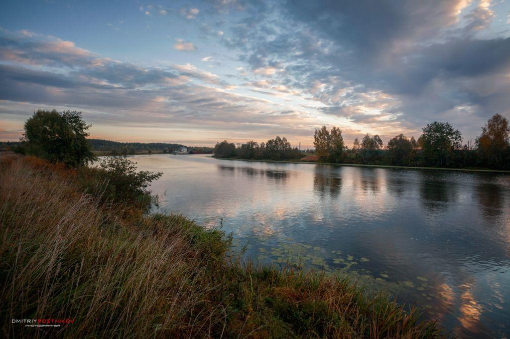 Утро на берегу реки Дубна.(4) Река, Фотографии