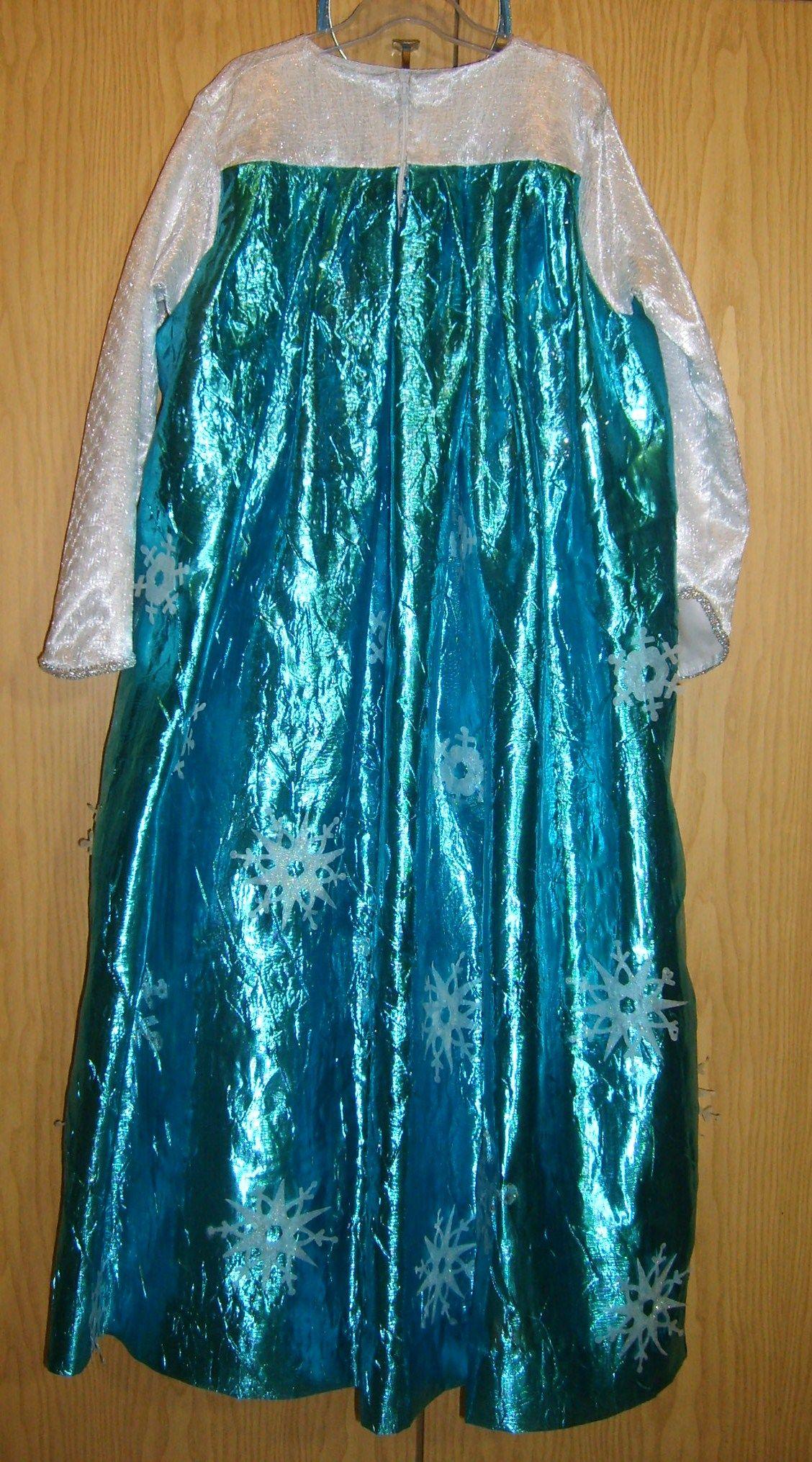 Mantello costume Elsa regina del ghiaccio