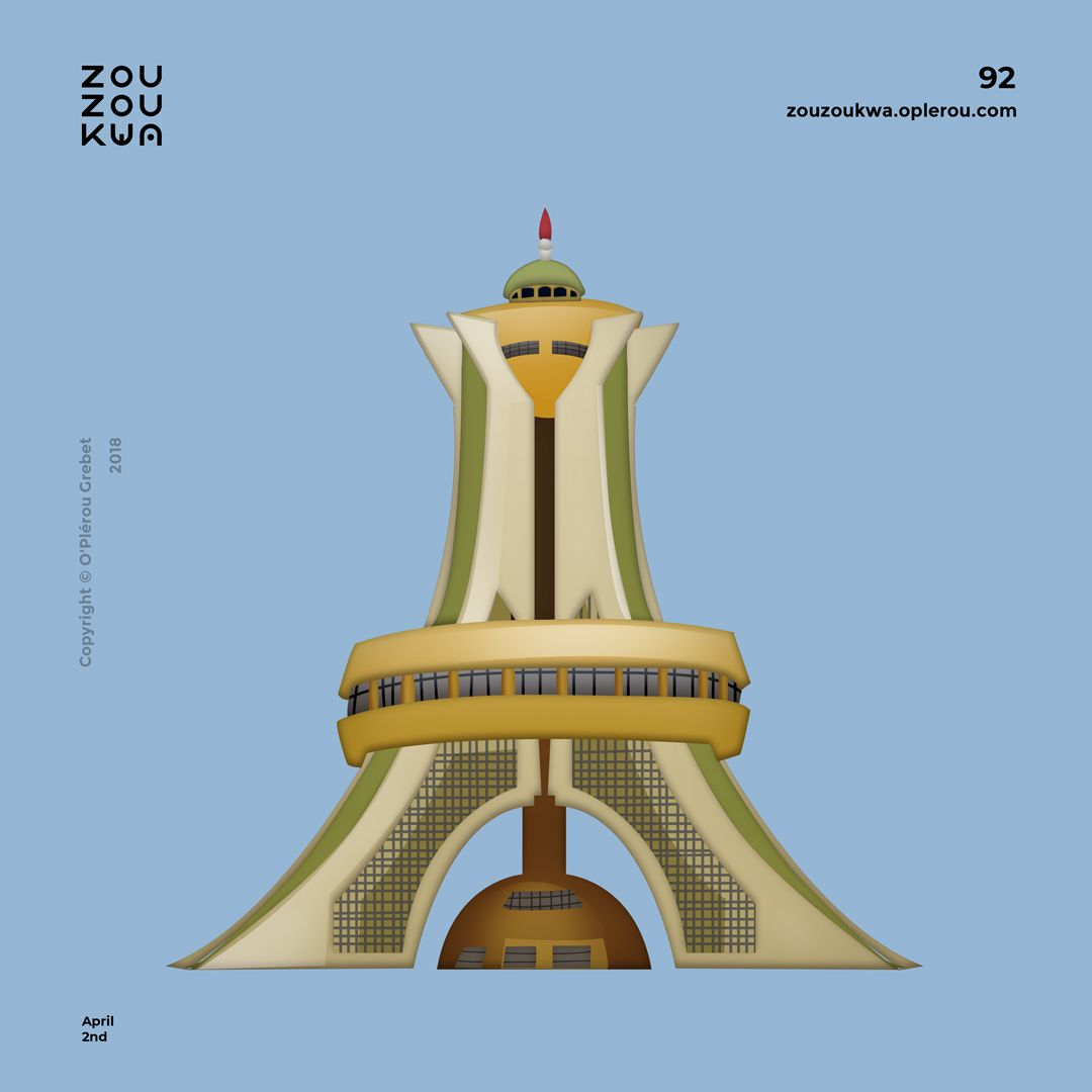 Pantheon Des Martyrs De La Revolution Emoji By O Plerou An Ivorian Artist Making 365 African Emojis For His Project Zouzoukw Make Pictures Ouagadougou Emoji
