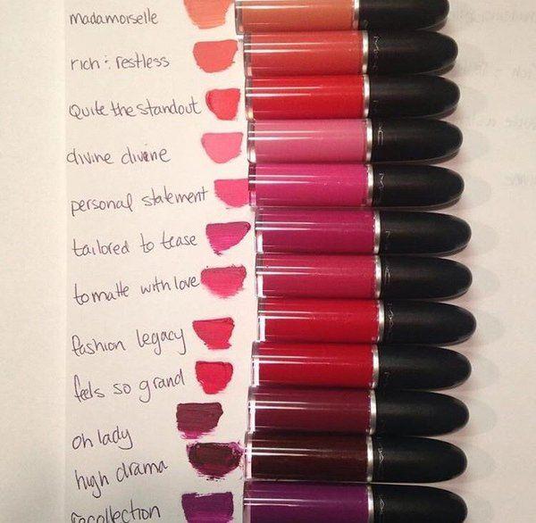 Minnie B S Photo Mac Liquid Lipstick Mac Lipstick Shades Lipstick Kit