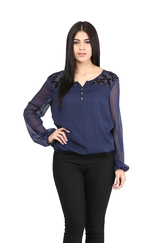 http://www.shoppermb.com | Tops, Women, Party wear tops online