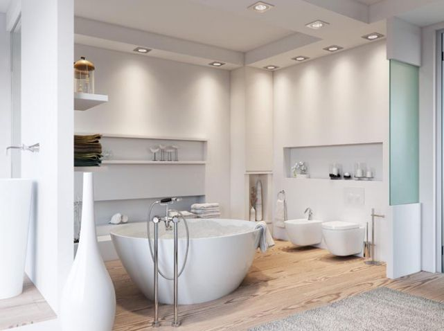 image result for chambre moderne salle de bain ouverte. Black Bedroom Furniture Sets. Home Design Ideas