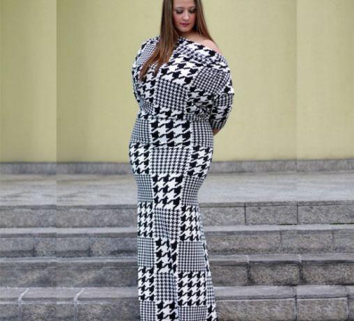 Houndstooth Maxi Dresses