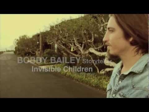 "Bobby Bailey, Co-founder of ""Invisible Children"" says the meaning of life starts with our stories..."