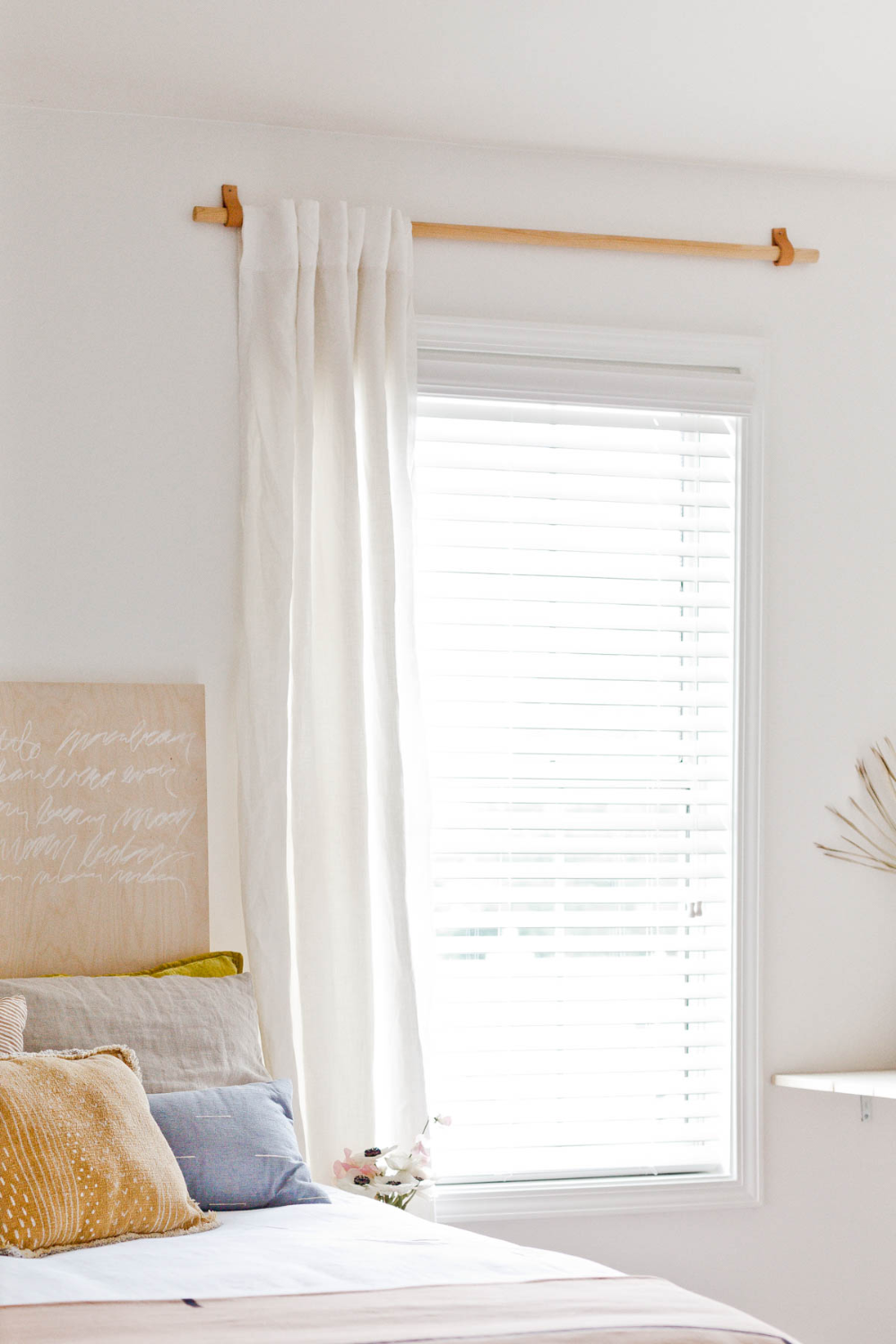 How to Make a Simple Curtain Rod for Less than 10 in 2020