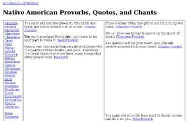 Native American Wisdom of Elders | Pearltrees | Native ...