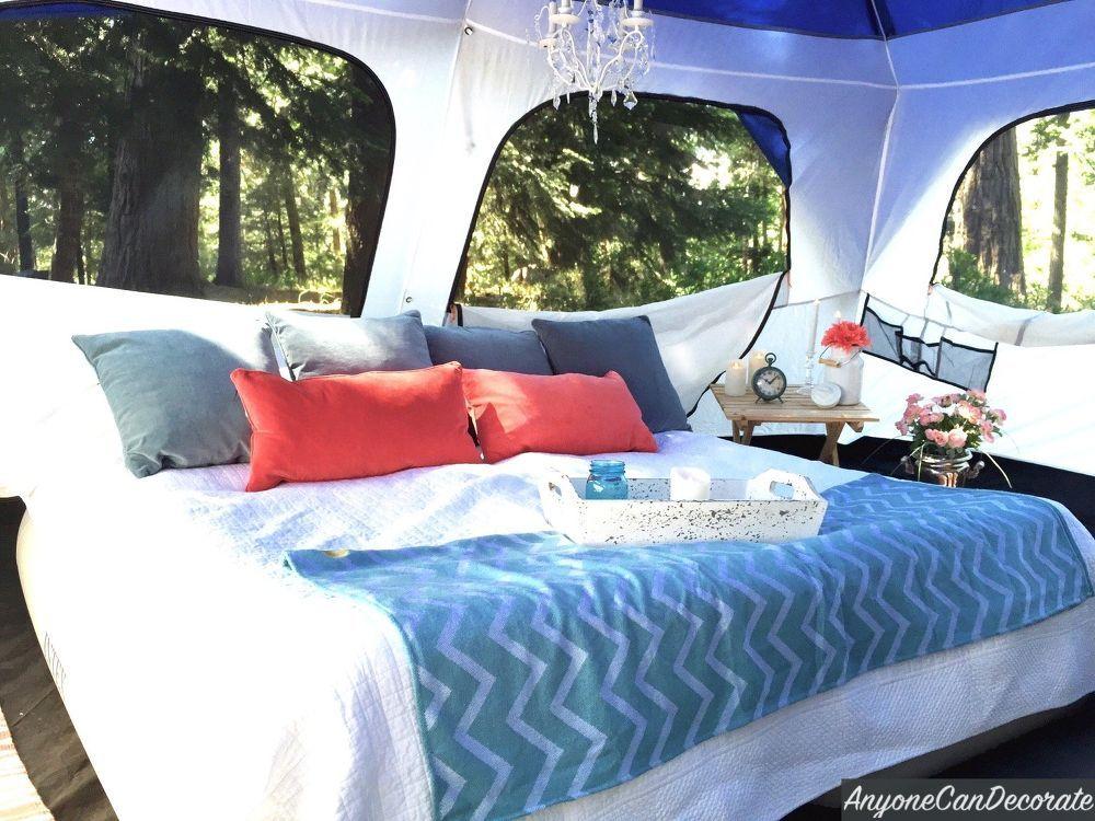 Gone Glamping A DIY Glamping Trip Glamping, Diy tent