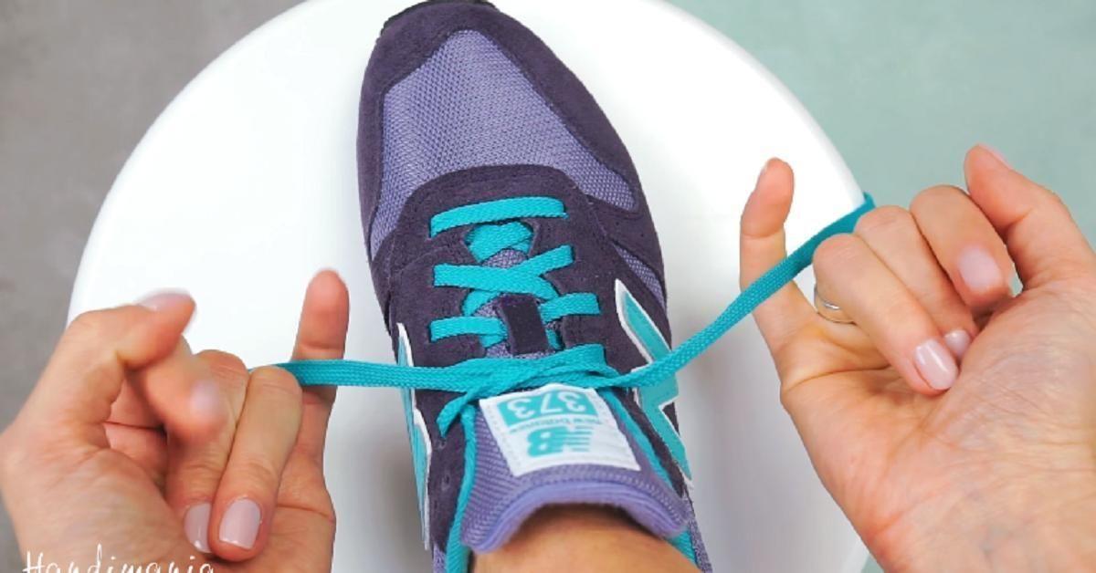 Comment attacher ses lacets. Une méthode différente du lapin