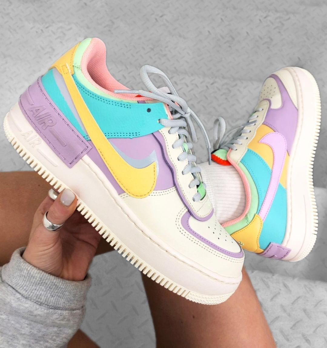 This Nike Air Force 1 Shadow Pastel Still Has Sizes Left At Foot