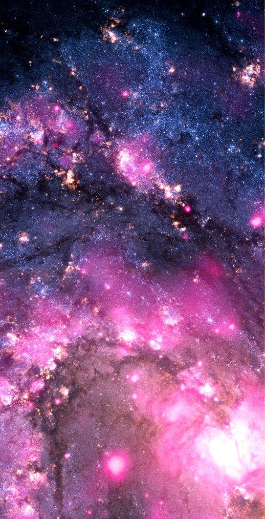 Black Hole Outburst In Spiral Galaxy M83 Nasa Chandra Hubble 04 30 12 Galaxy Wallpaper Spiral Galaxy Nebula