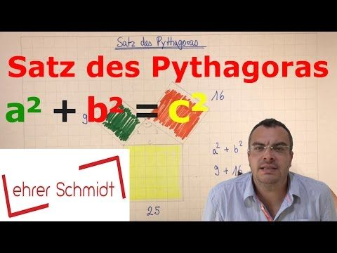 youtube mathematik satz des pythagoras mathematik und. Black Bedroom Furniture Sets. Home Design Ideas
