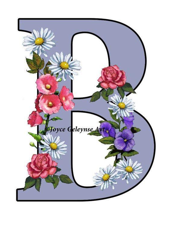 Blume Mit B