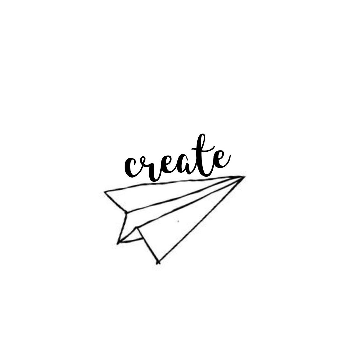 create... hand lettering