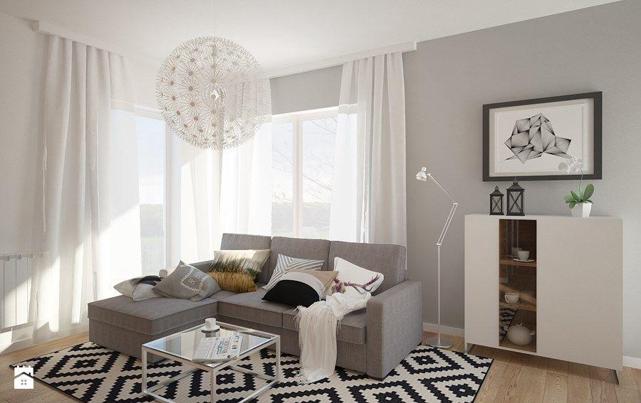 e61a328e nowoczesne dekoracje okien   Home inspirations w 2019   Salon ...