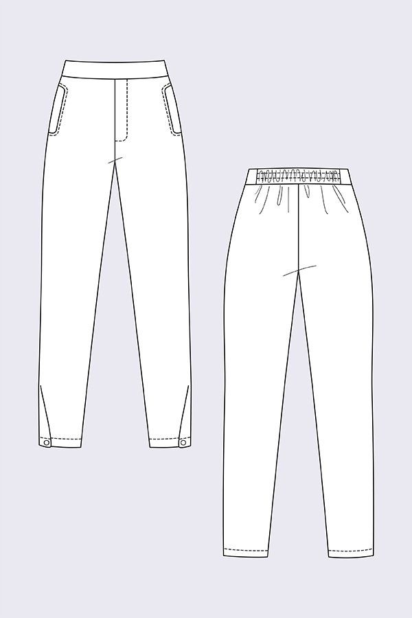 Named Clothing Ruri Sweatpants Downloadable Pattern With Images