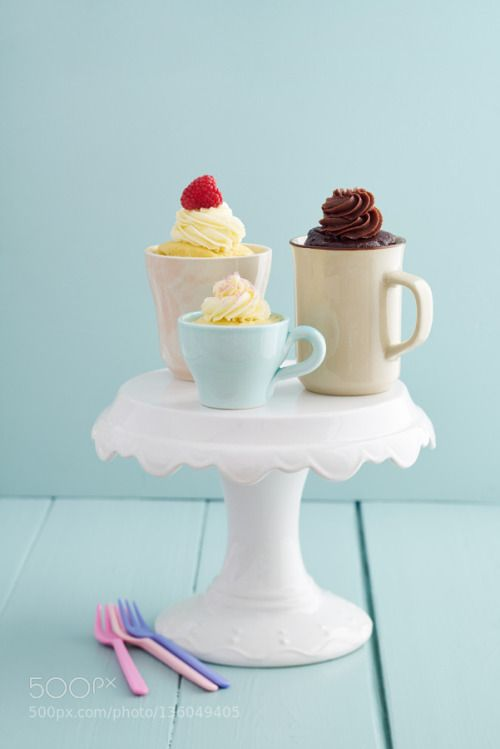 Mug cakes by coelfen  IFTTT 500px pedestal baked goods butter cream buttercream cake cake stand chocolate cup cup cake c