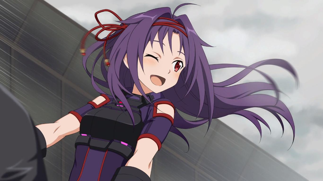Yuuki(SAO Fatal Bullet) | Sword art online yuuki, Sword art online kirito,  Sword art