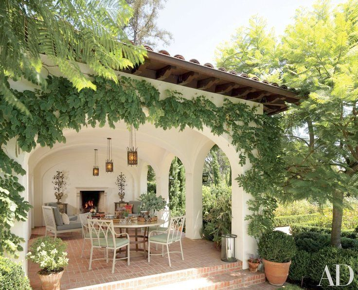 spanish style homes with garden Spanish style garden | Cool places | Spanish style homes