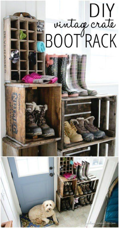 50 Decorative Rustic Storage Projects For A Beautifully Organized Home  .