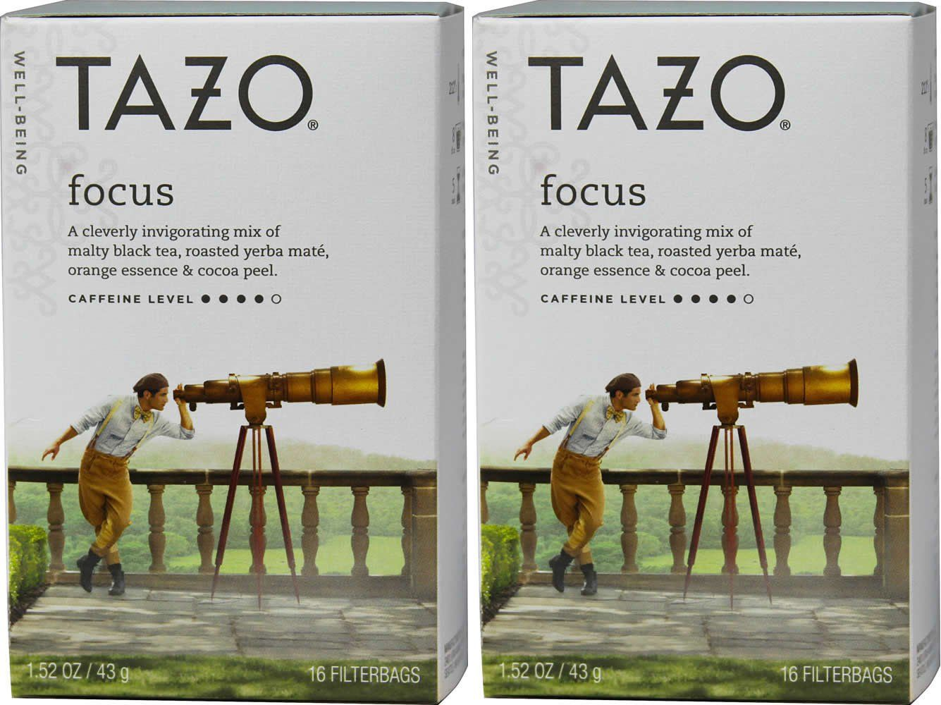 Tazo Focus Well-being Tea  Obsessed.  Yum.