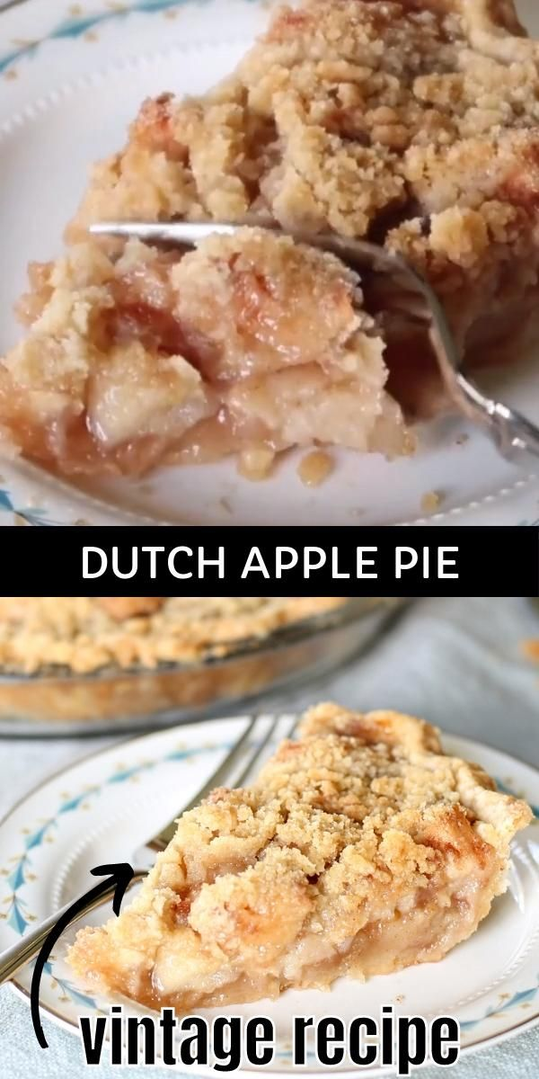 Dutch Apple Pie -   19 thanksgiving desserts pie apple ideas