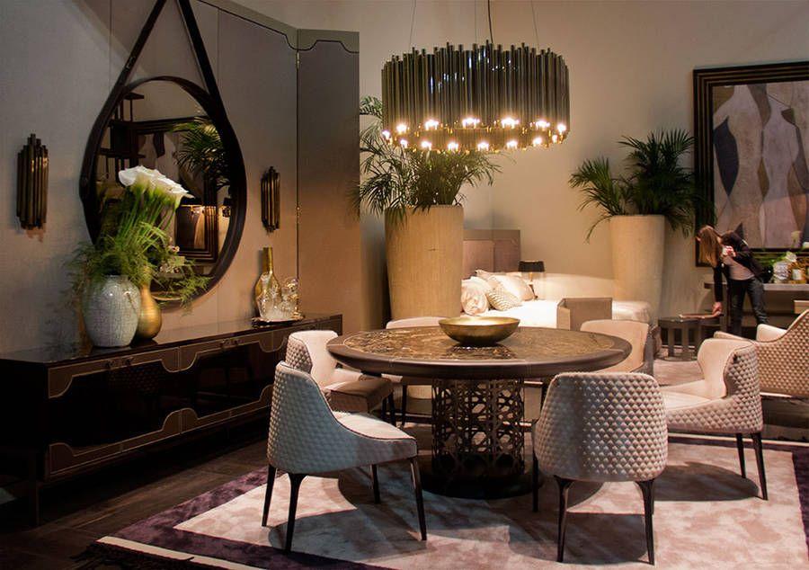 Improve your meals by improving your dining room decor | www.delightfull.eu #delightfull #diningroominteriordesign #modernchandeliers #ceilinglights