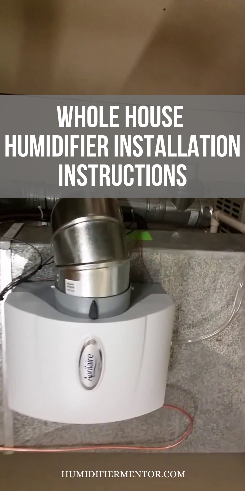 Whole House Humidifier Installation Instructions Humidifier Installation Best Whole House Humidifier Humidifier