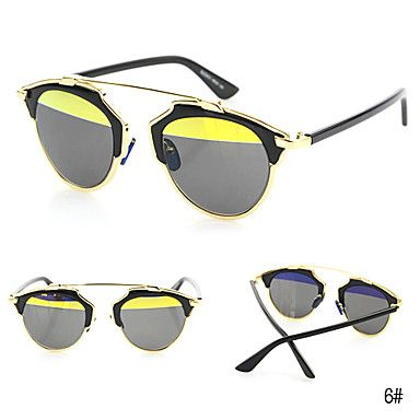 De 100% UV400 vrouwen cat-eye legering retro zonnebril – EUR € 11.99