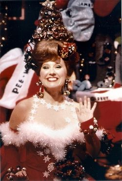 Have I Mentioned How Much I Love Miss Yvonne S Christmas Dress Old Fashioned Christmas Pee Wee S Playhouse Classic Christmas