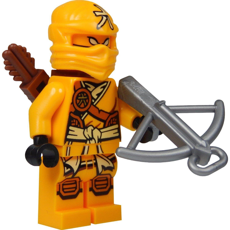Amazon chima party supplies - Amazon De Lego Ninjago Minifigur Skylor Gelber Ninja Mit Pfeilk Cher Und