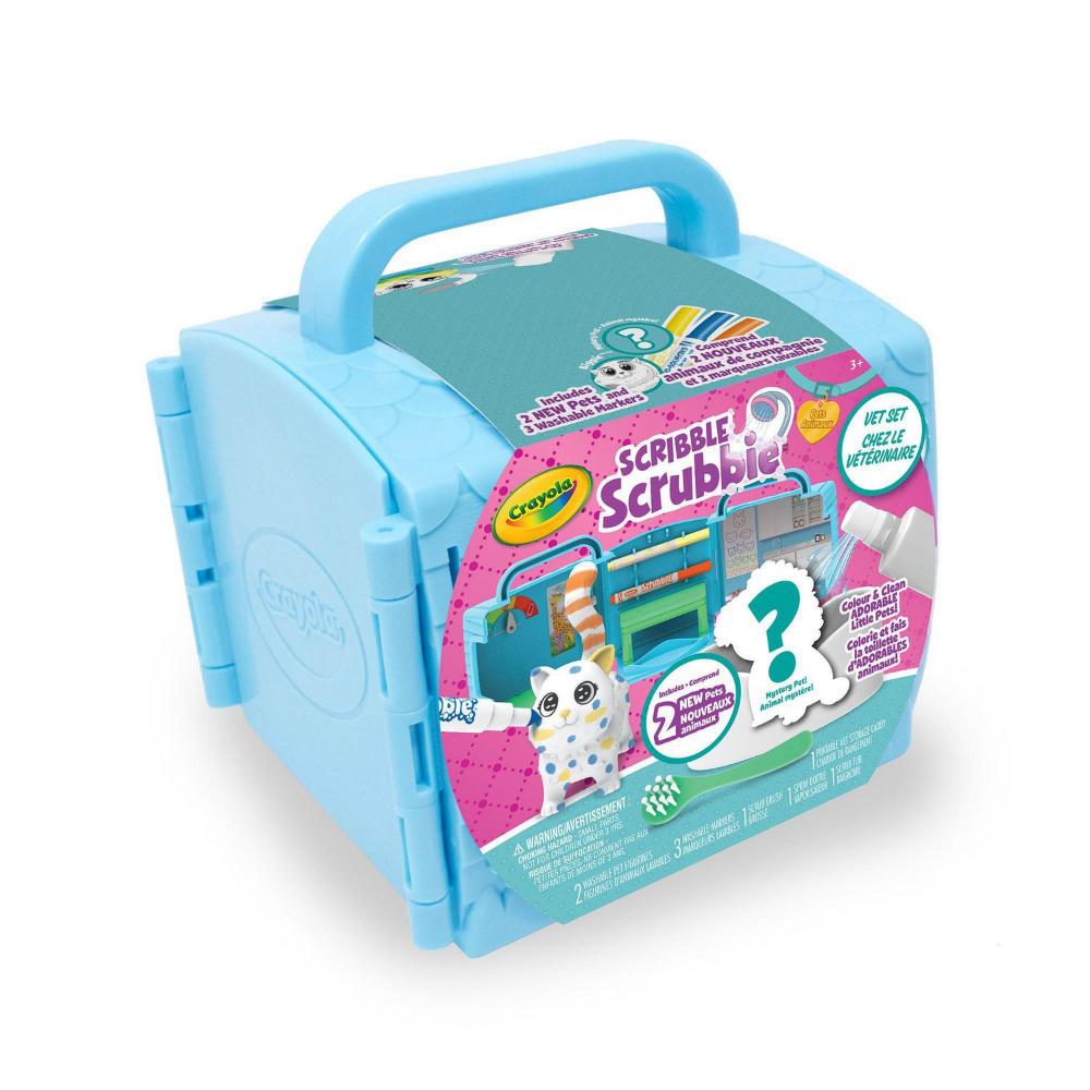 Crayola Scribble Scrubbies Pets Vet Set Walmart Canada Idee Idees Cadeaux Cadeau