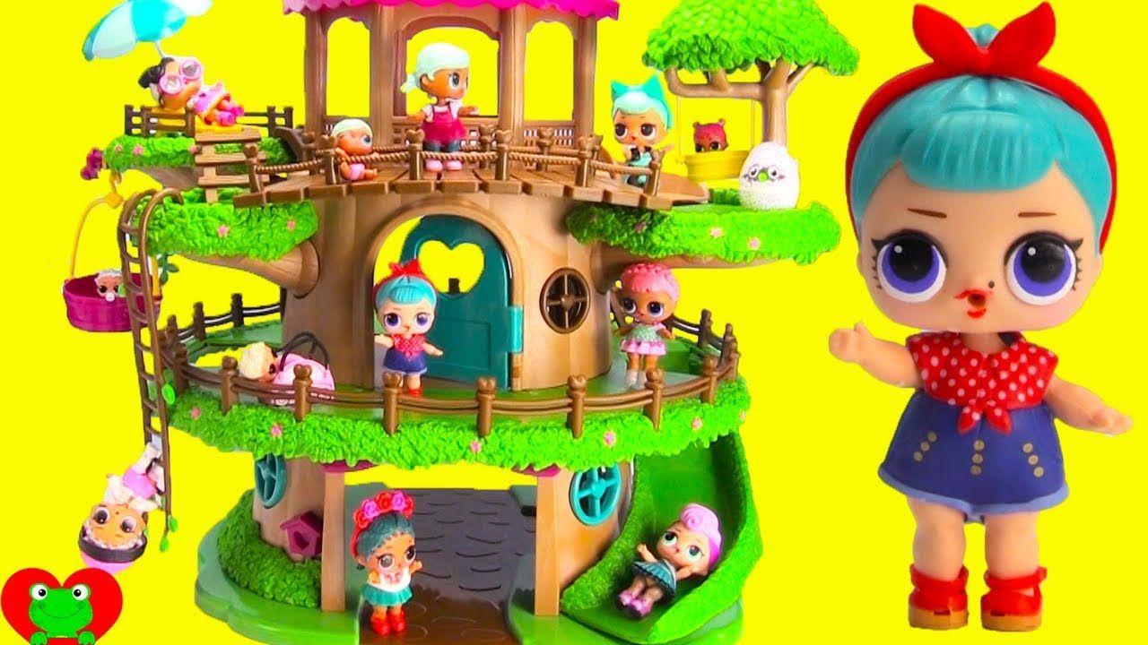 Lol Surprise Dolls Giant Tree House Surprises Dolls