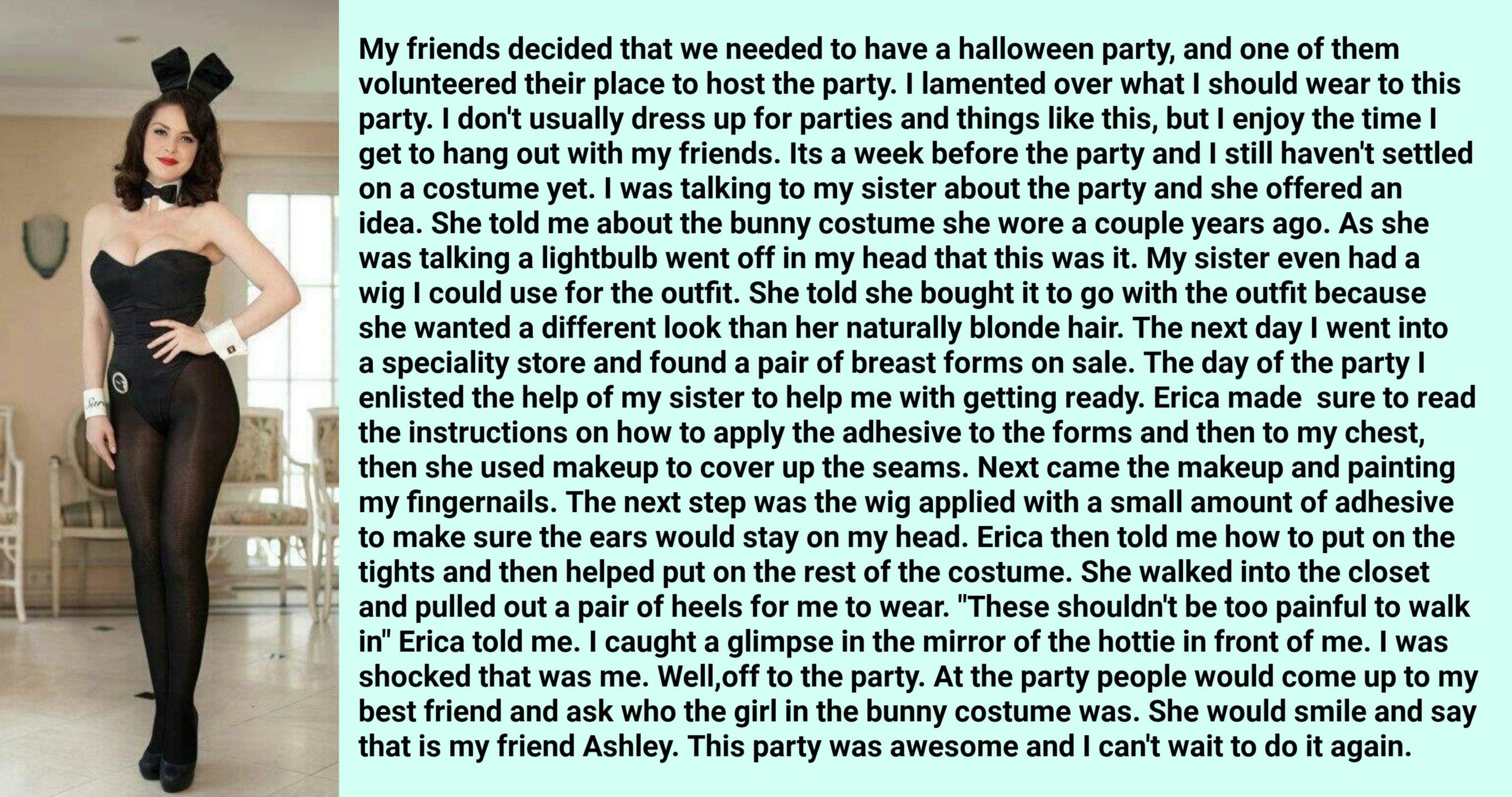 023f9adde7bc Halloween Party !! - TG Transformation Stories