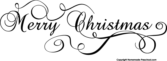 Black And White Christmas Holly Clip Art