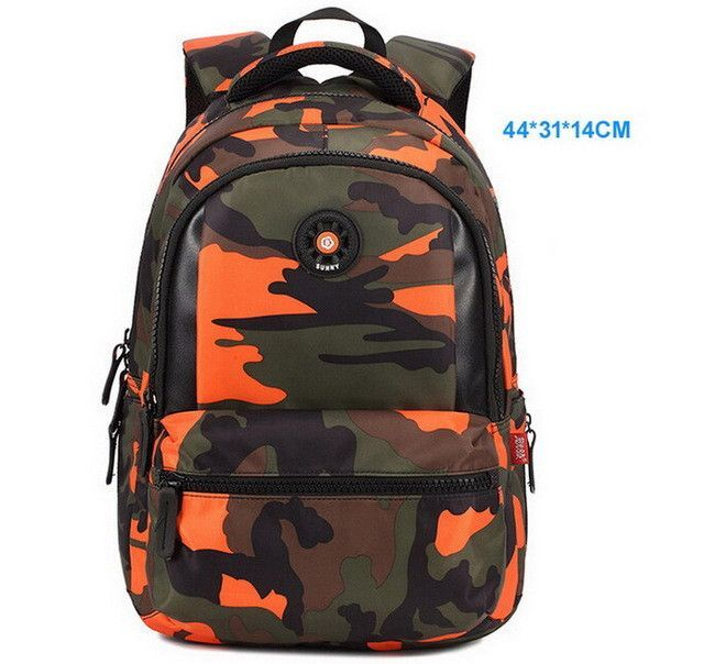 d26948f59a 3 Sizes Camouflage Waterproof Nylon School Bags for Girls Boys Orthopedic Children  Backpack Kids Bag Grade 1 - 6 Mochila Escolar