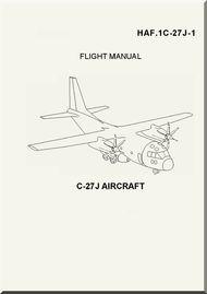 Alenia / Lockheed C-27 J Flight Manual, ( English Italian