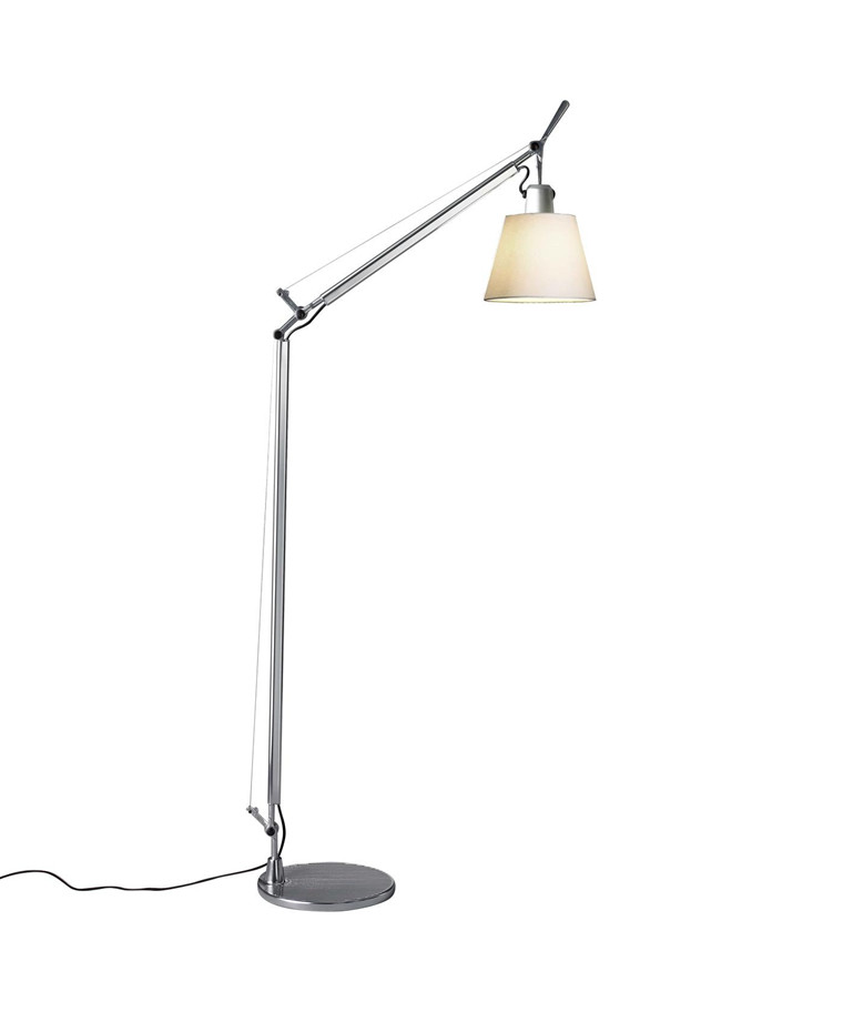 Tolomeo Basculante Lettura Floor Lamp Parchment Artemide In 2020 Lampen Wandlamp En Gloeilampen