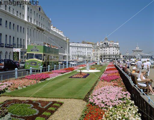 Carpet Gardens on the Promenade, Eastbourne, East Sussex ...