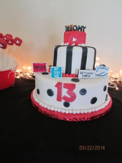 Youtube Birthday Cake Bethany Mota O2l Jccaylen