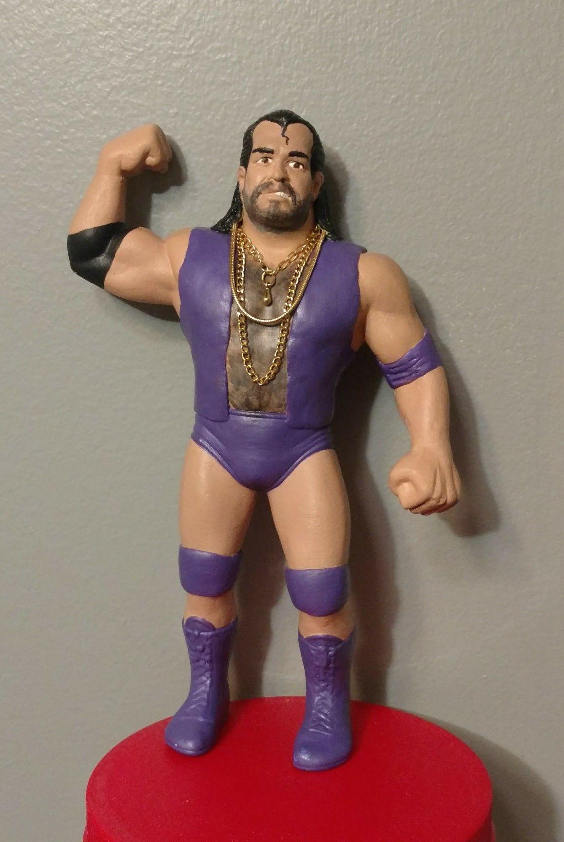 Razor Ramon Custom Ljn Wwf Wwf Wrestler Wcw