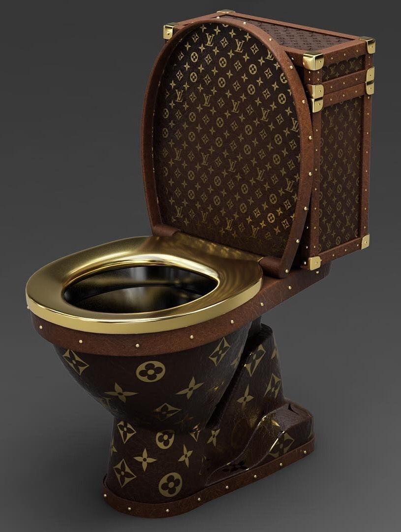 Louis Vuitton Bettwäsche Louis Vuitton Toilet By The Hard Drive 2016 Amazing Funny