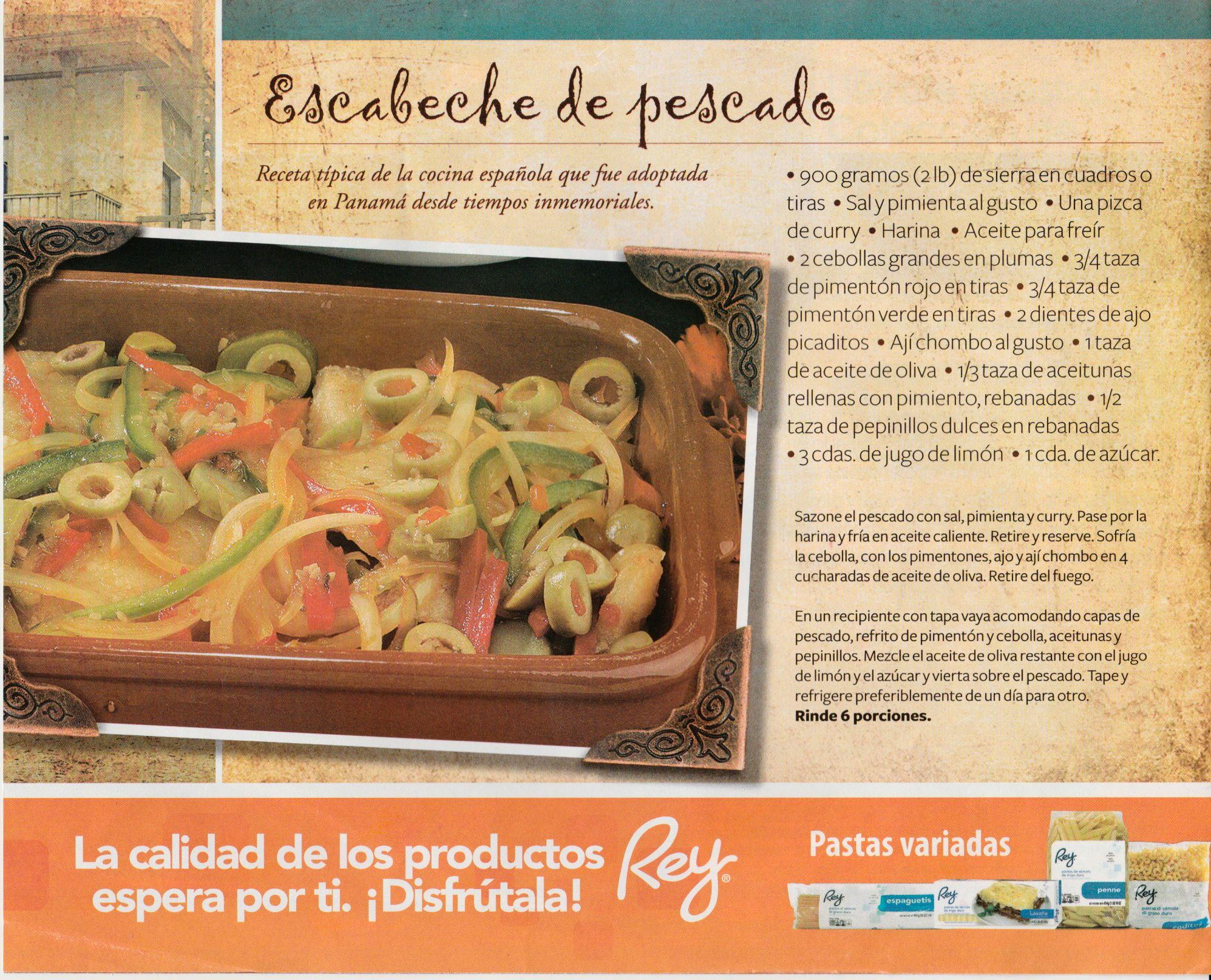 Escabeche de pescado paname o food panama pinterest for Cocinar 7 mares